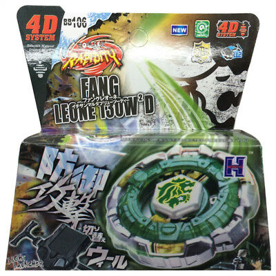 $7.69 • Buy Fang Leone Beyblade BB-106 130W2D B-147 4d Hyperblade STARTER SET WITH LAUNCHER!
