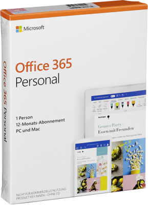 AU108.49 • Buy Microsoft Office 365 Personal NEW