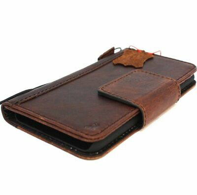 AU41.31 • Buy Genuine Real Leather Case For LG V30 Wallet Magnetic Closure Cover Book Holder