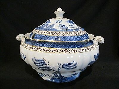 $ CDN495 • Buy Royal Doulton - Booths Real Old Willow - Covered Soup Tureen - Booths Stamp
