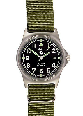 $ CDN119.26 • Buy Official MWC G10LM Watch Olive Green Strap 50m Water Proof Military Quartz G1098