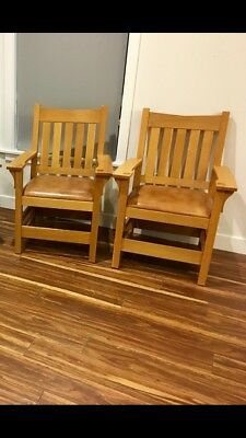 Stickley Furniture Captain Chair Arm Chairs   Used   Post 2 U2022 525.00$