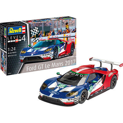 £26.22 • Buy Revell 07041 Ford GT Le Mans 2017 Racing Car Plastic Model Kit Scale 1/24