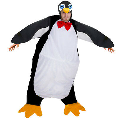 Fat Penguin Costume Christmas Hat Adults Xmas Funny Novelty Bird Fancy Dress • 15.99£