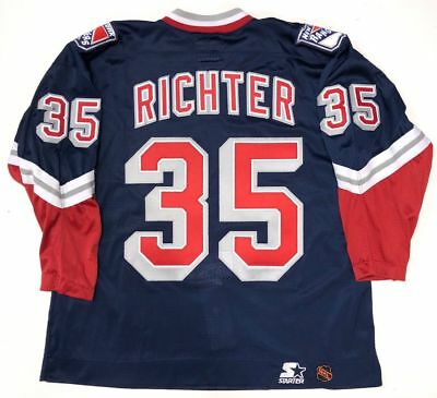 9ea369648c1 Mike Richter 1996 New York Rangers Liberty Authentic Starter Jersey 54 •  499.99$