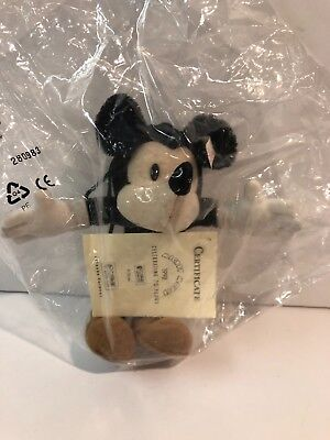 $169.99 • Buy Disney Steiff Mickey Mouse 1998 70 Years Of Mickey Limited Ed. 0059/1928 In Box