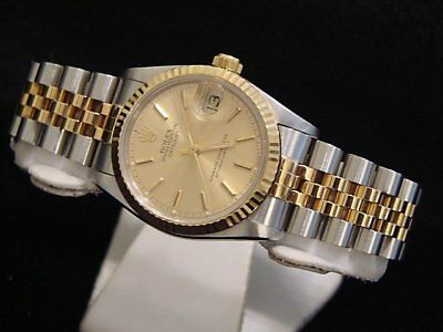 $ CDN7520.34 • Buy Rolex Datejust 68273 Mid-size 18K Yellow Gold Stainless Steel Watch Champagne