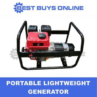 AU469 • Buy Petrol Generator 7HP Engine 2.5 Kw Rated 2.8 Kw Max Output Portable Power