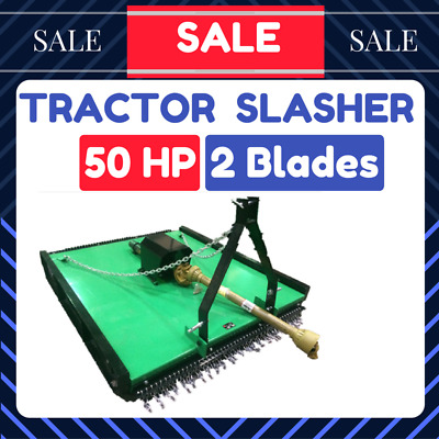 AU2379 • Buy TRACTOR SLASHER 5FT 3 Point Linkage Suit To Tractor 25-50HP 1.5m CUT