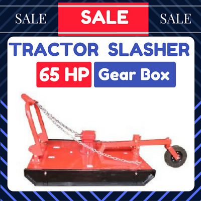 AU2499 • Buy Tractor Slasher 5 Ft Off Set Suit Tractor 3PL Upto 120 HP With Rear Wheel