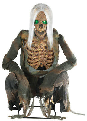 $189.95 • Buy Crouching Bones Animated Prop Halloween Decor Life Size Skeleton Dead Zombie