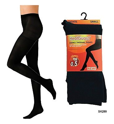 £3.99 • Buy Ladies Thermal Tights Full Length Stretchy Warm Winter Ski Wear