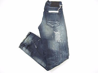 Prps Goods Co Barracuda Distressed Blue 28 Regualr Fit Jeans Mens Nwt New • 128.35£