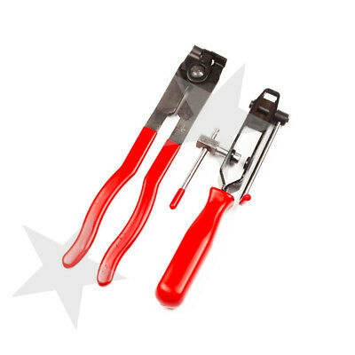 AU24.91 • Buy 2pc CV Joint Clamp Banding Install Tool Ear Type Boot Clamp Pliers Profession