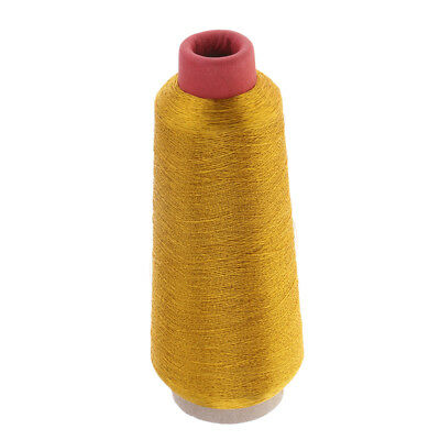 1500m/Roll Gold Whipping Wrapping Thread Line For Fishing Rod Rings Guides • 9.39£