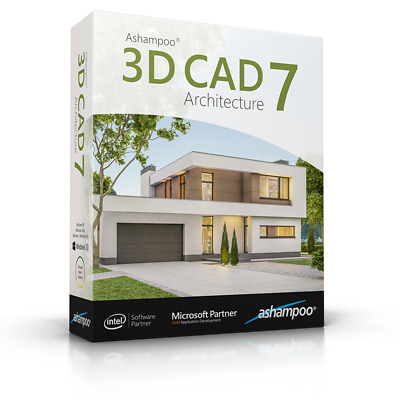 Ashampoo 3D CAD Architecture ,Design 3D Views Construction Furnishing Home • 34.33£