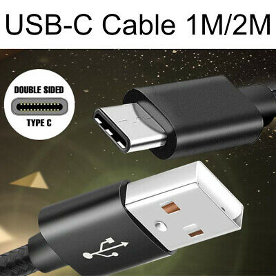 AU4.99 • Buy Type-C USB Charger Cable Lead Cord 1M 2M 3M For Samsung Galaxy S8 Plus Note S9