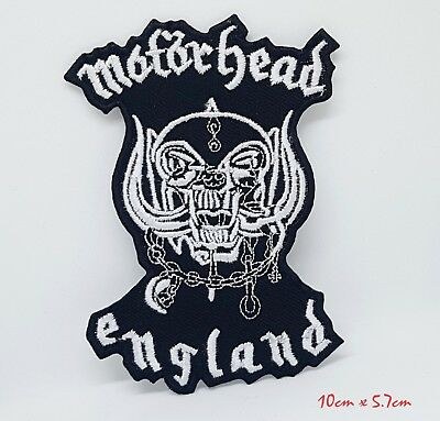 Motorhead England Band Rock Metal Iron/Sew On Embroidered Patch #1167 • 1.98£