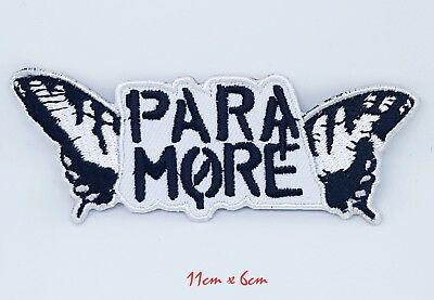 £1.99 • Buy New Paramore Iron Sew On Embroideredpatch Badge #1031
