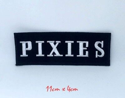 £1.99 • Buy Pixies American Rock Band BadgeEmbroidered Iron On Sew On Patch #1369