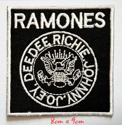 £1.99 • Buy Ramones American Punk Rock Band Embroidered Sew On Iron On Patch#750