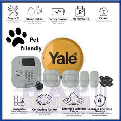 Yale Ia-230 Pet Friendly Wireless App Control Alarm Kit • 379.99£