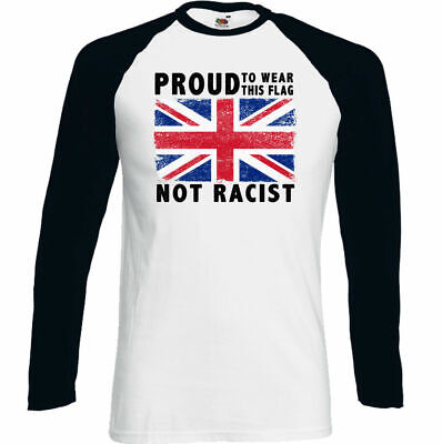 Union Jack T-Shirt St Georges Day Mens Flag Immigration Football Rugby Top Proud • 9.95£