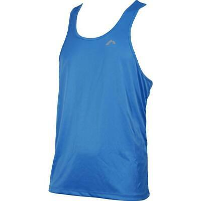 £5.99 • Buy More Mile Muscle Mens Gym Vest Navy Exercise Sports Training Workout Tank Top S