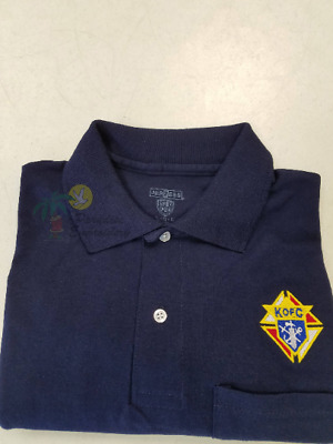 $26 • Buy Knights Of Columbus Embroidered Polo Golf Shirt With Logo Only(free Shipping)