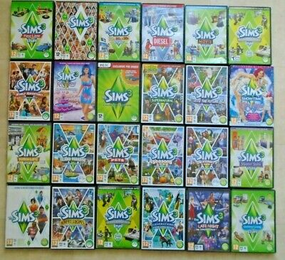 The Sims 3 / PC / MAC Base Game / And Expansion Packs Sims £3 + • 4.50£