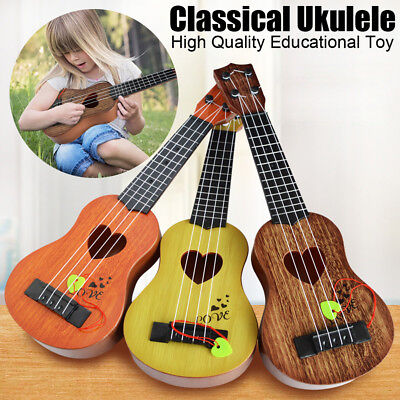 AU7.11 • Buy Beginner Classical Ukulele Guitar Educational Musical Instrument Toy For Kids