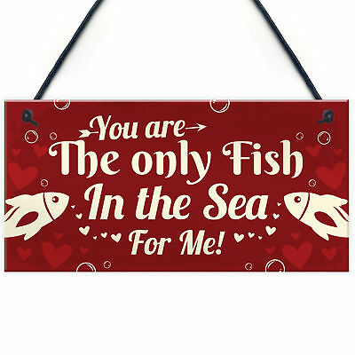 £3.99 • Buy Funny Valentines Gift Plaque For Husband Wife Boyfriend Girlfriend Romantic Gift