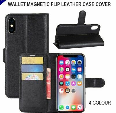 AU3.99 • Buy Wallet Case Card Holder Cover For Apple IPhone XS Max XR X 8 7 6 6s Plus