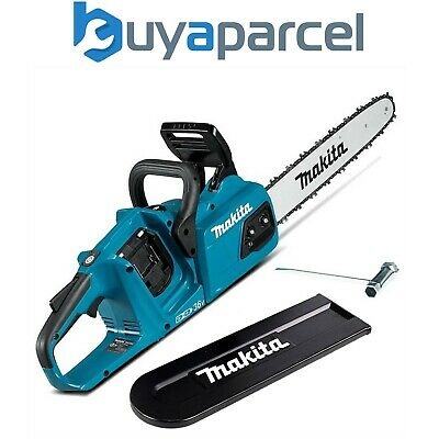 "View Details Makita DUC355Z Twin 18v / 36v LXT Cordless 35cm 14"" Chainsaw Lithium Ion - Bare • 229.99£"