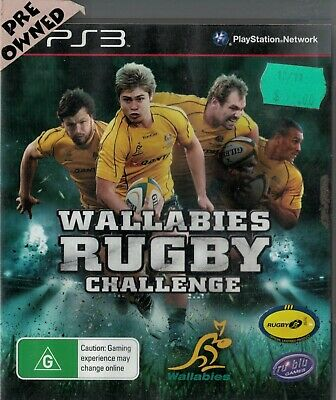 AU5.95 • Buy Wallabies Rugby Challenge  Ps3