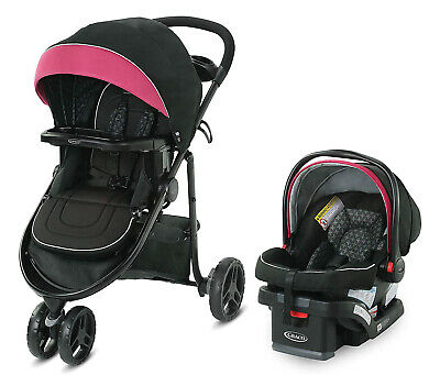 Graco Baby Modes 3 Lite DLX Travel System Stroller With Infant Car Seat Arbis • 217.07£