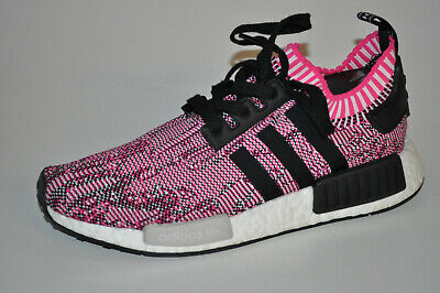low priced 0b813 44fcc Adidas NMD R1 W BB2363 Shock Pink Core Black Ftw White Pink Weiß • 94.00€