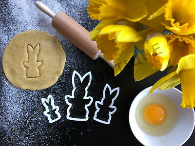 £3.79 • Buy Neat Bunny Rabbit Cookie Cutter 02   Cake Decorating   UK Seller