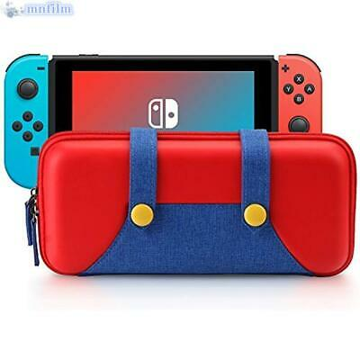 For Nintendo Switch Protective Storage Mario Bag Accessories Carrying Case USA • 10.48$