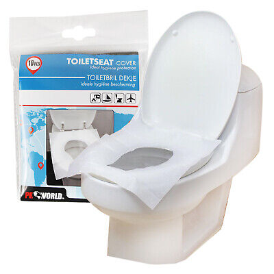 £2.49 • Buy Disposable Toilet Seat Travel Covers Camping Hygienic Clean Protection Flushable