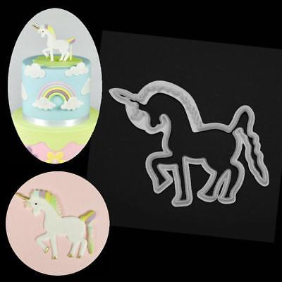 AU7.95 • Buy Aus Seller...UNICORN Fondant Cookie Cutter Sugarcraft Mould..10.8cm...new