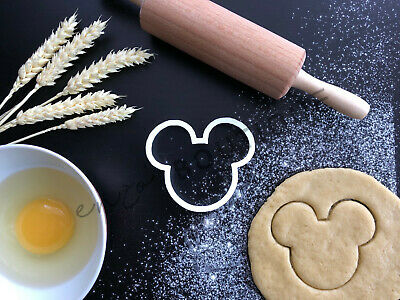 Mickey Mouse Face Cookie Cutter 03 | Fondant Cake Decorating • 9.99£