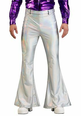 $24.98 • Buy Holographic Disco Pants For Men