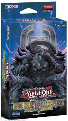 YuGiOh! Emperor Of Darkness Structure Deck  :: 1st Edition :: 41 Cards + Mat + G • 16.39£