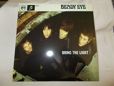 AU49.99 • Buy Beady Eye - Bring The Light - Uk 7 P/s Vinyl -numbered -unplayed-oasis-4000 Only