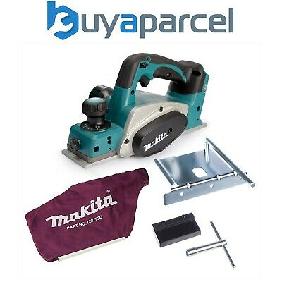Makita DKP180Z 18v Planer LXT Lithium Ion Cordless Bare Tool - Includes Dust Bag • 139.99£