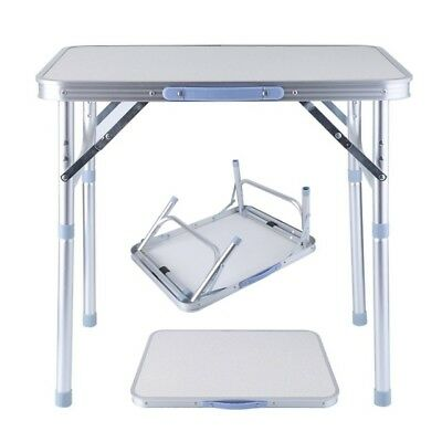 Small Portable Fold Away Up Camping Picnic Table Kitchen Outdoor Garden Dining • 16.99£
