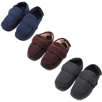 f3c6ce483d6 Diabetic Slippers Extra Wide Adjustable Edema Orthopedic Shoes For Swollen  Feet • 49.99