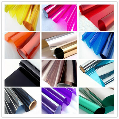 AU37.79 • Buy One Way Mirror Home Glass Privacy Film Solar Reflective Window Tint Roll 5m