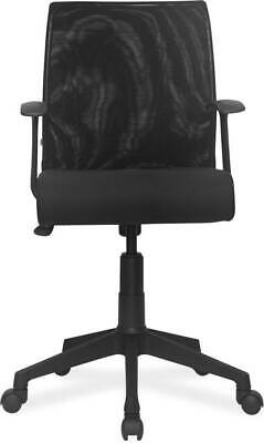 AU192.32 • Buy CHAIRS ORACLE UMBRELLA BASE MEDIUM BACK OFFICE CHAIR Fabric CHAIR